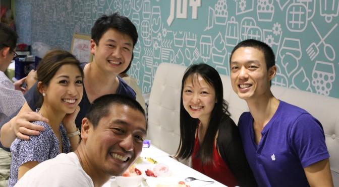 Dinner with Margarita, Yang & Heng
